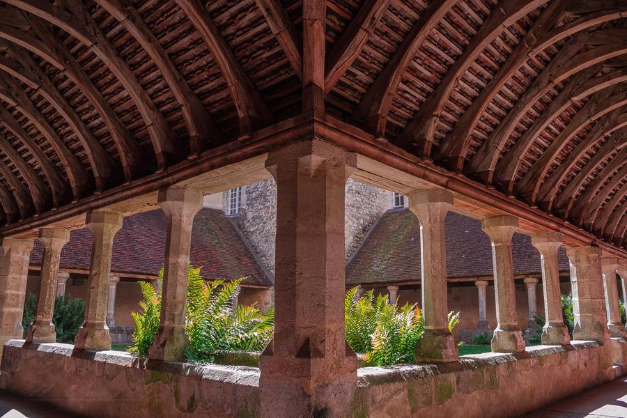 cloisters of St Francois Mortagne au Perche Orne by hubert61