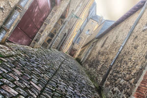 A street in the old Le Mans Sarthe France by hubert61