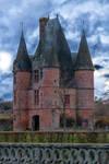 Entered the castle1 of Carrouge Orne France