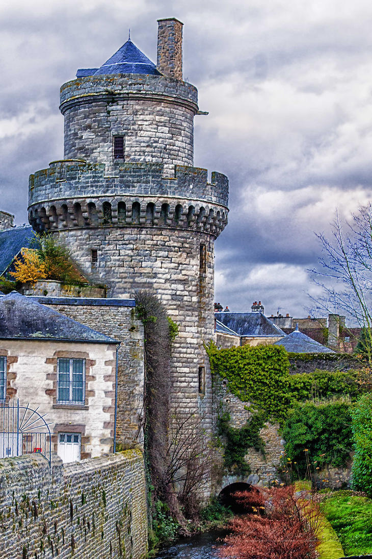 Tower  Alencon Orne France by hubert61