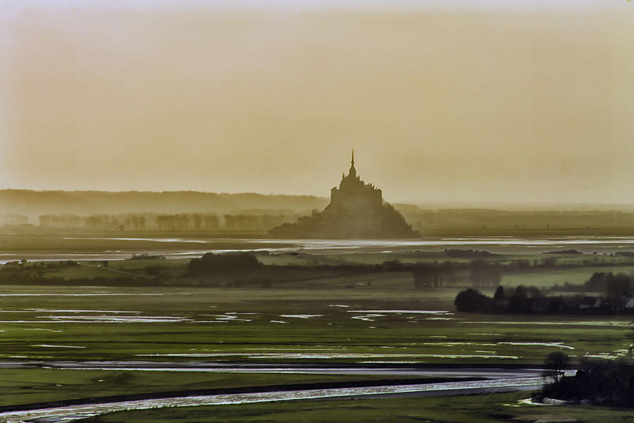 Le Mont St Michel Avranche Manche France by hubert61