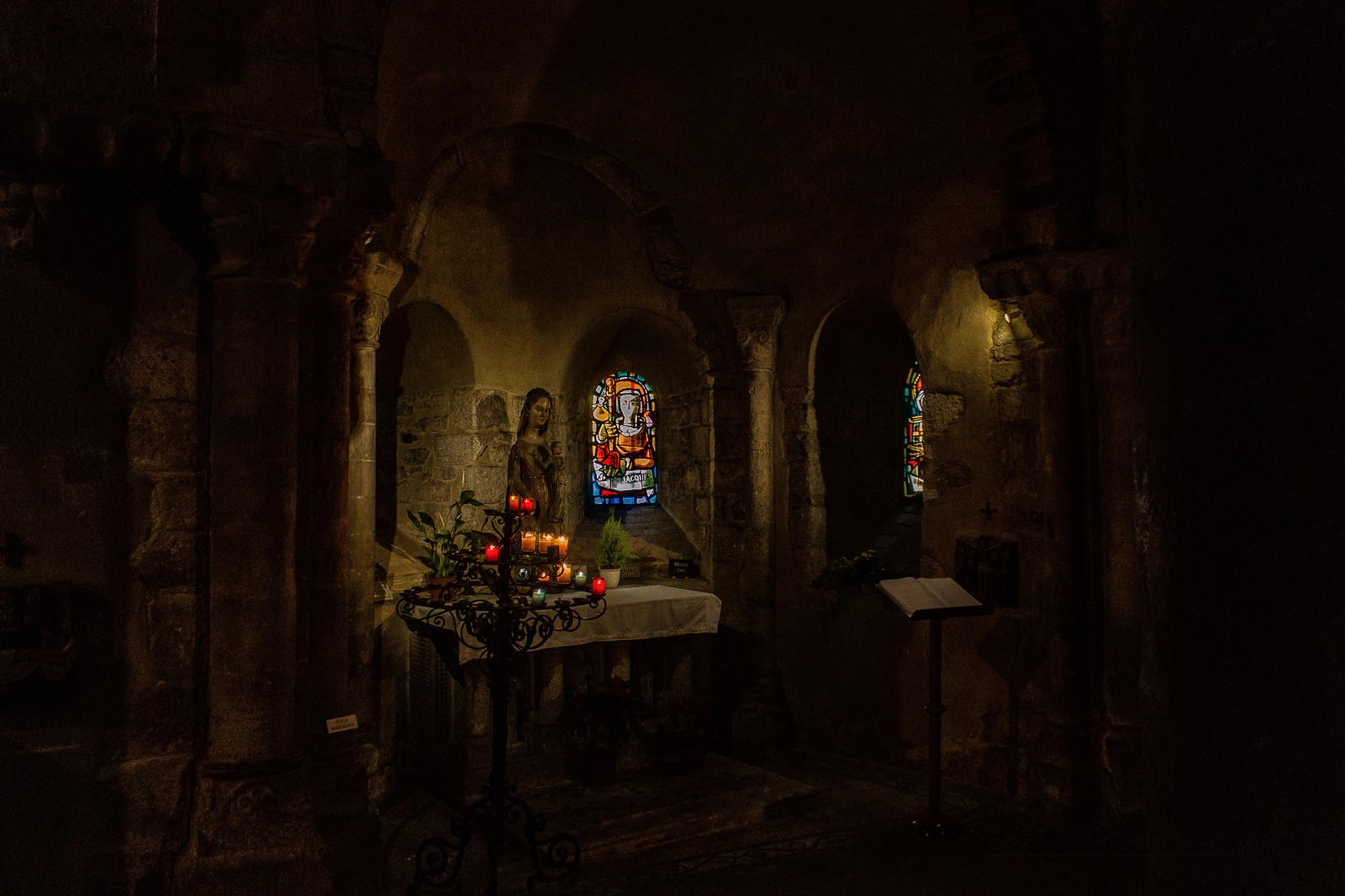altar Laval Mayenne France by hubert61