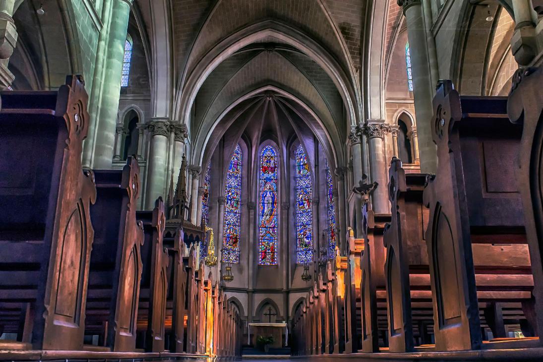 Church of Chailland Mayenne France by hubert61