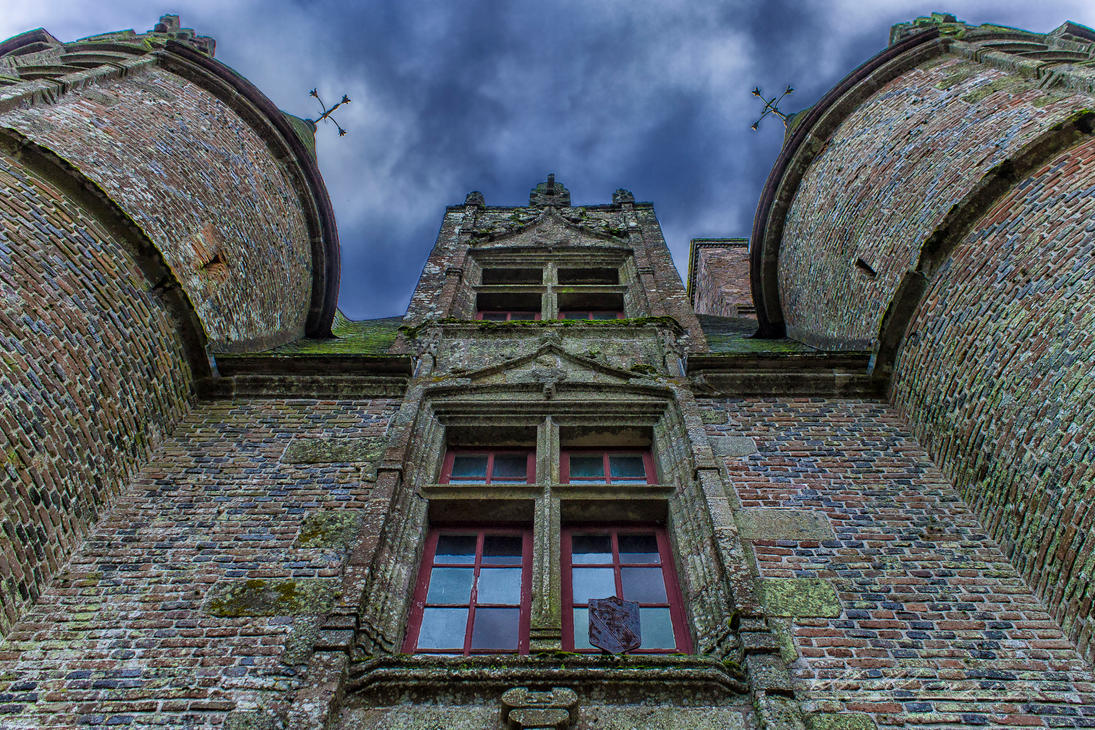 Castle3 of Carrouge Orne France by hubert61