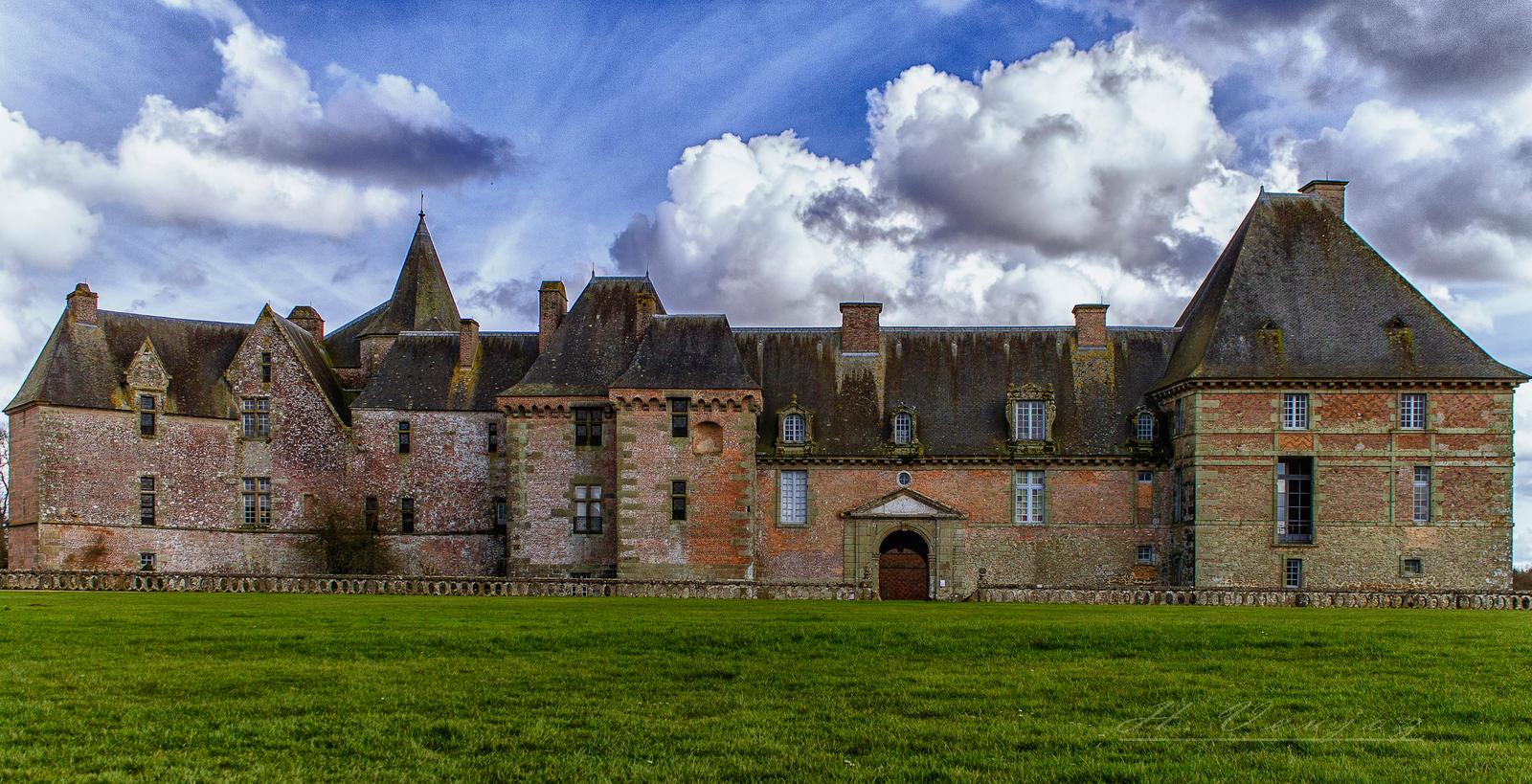 Castle of Carrouge Orne France by hubert61