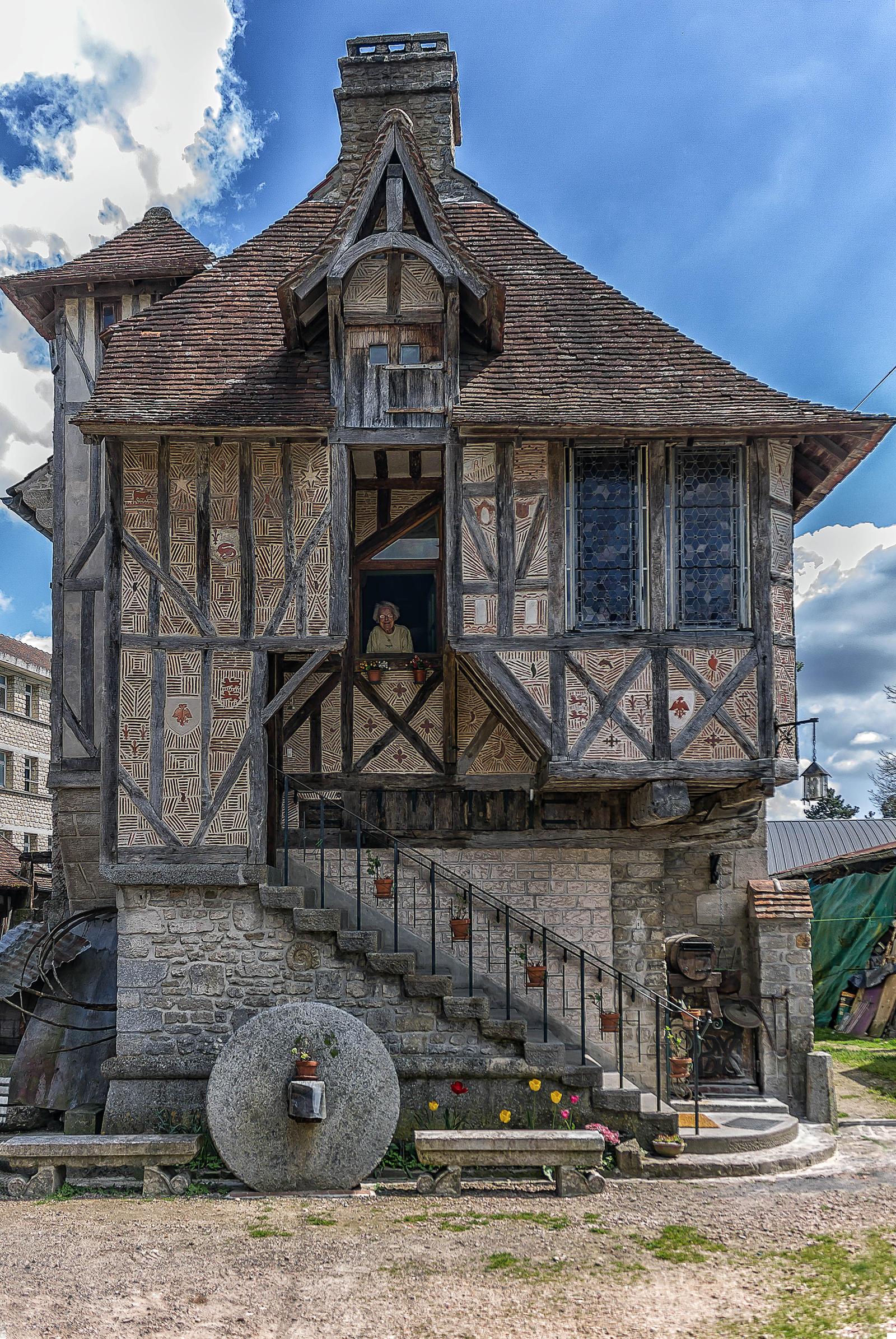 House Argentan Orne France by hubert61