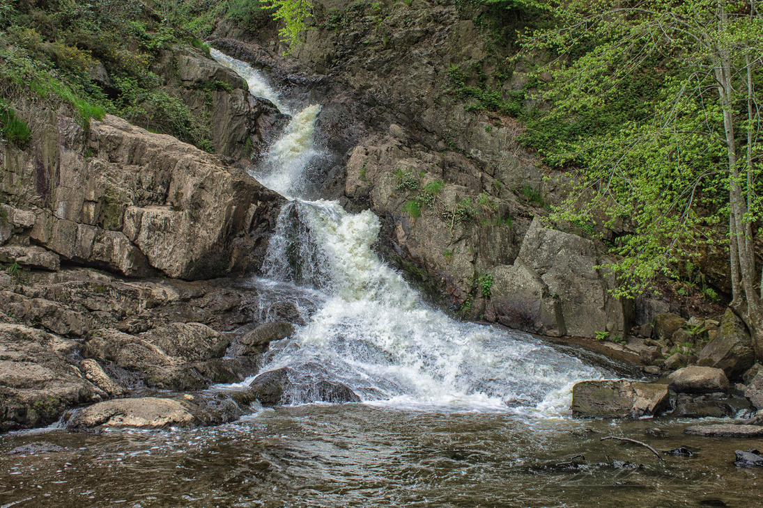 The great Cascade Mortain Manche France by hubert61