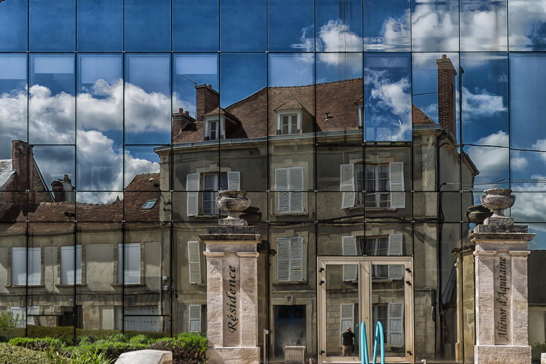 reflet Argentan Orne France by hubert61