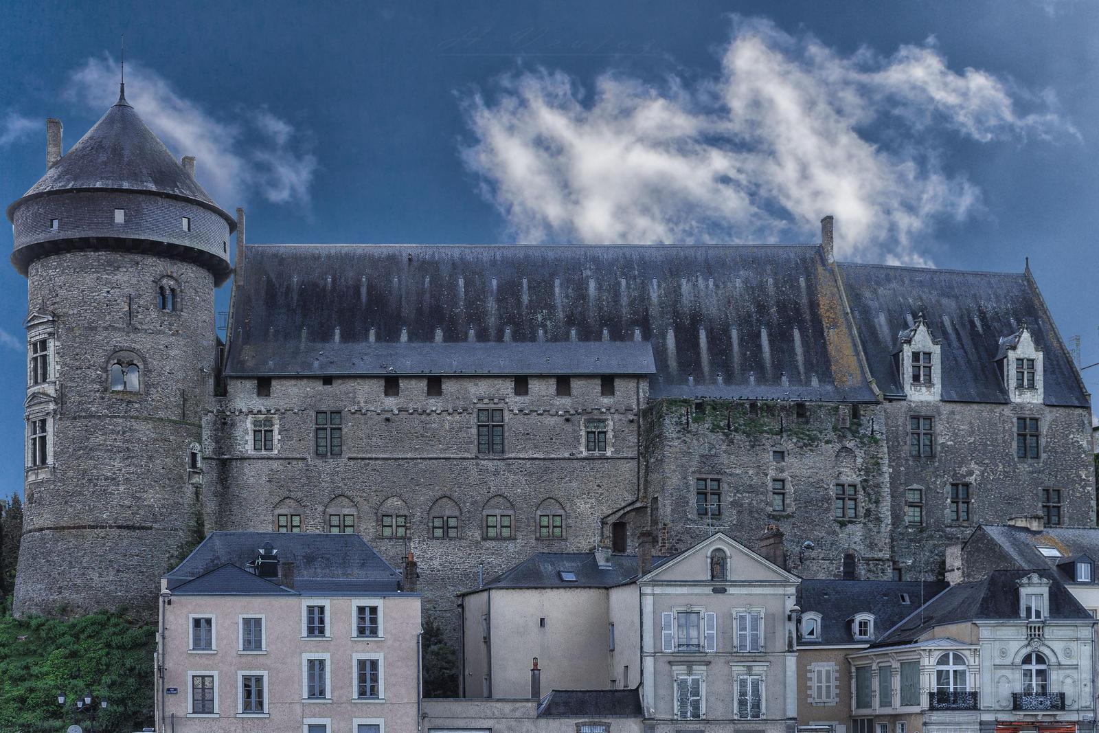 Castle of Laval Mayenne France by hubert61
