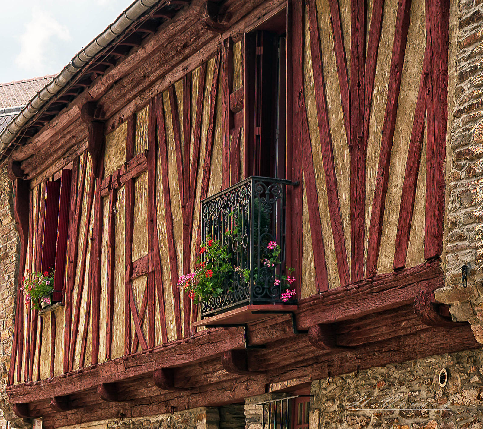facade9 Malestroit Morbihan France by hubert61
