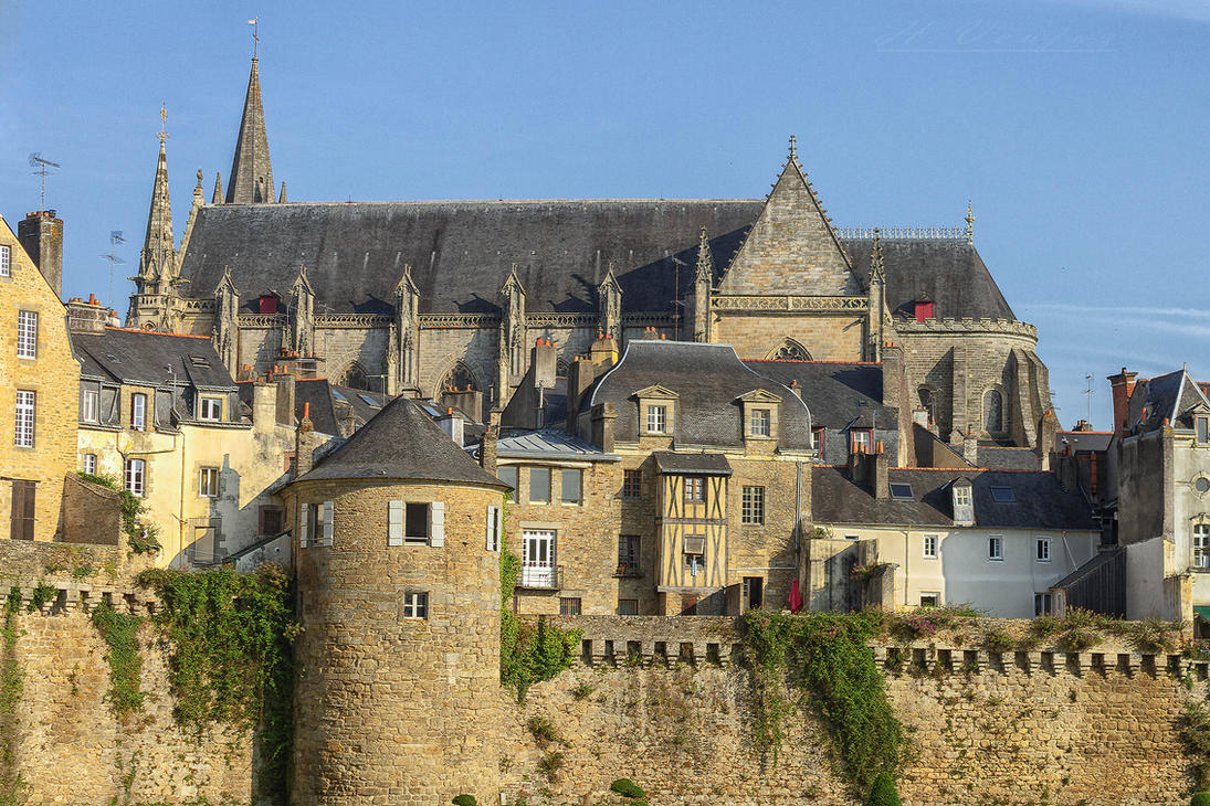 Vannes France  city photo : La Ville de Vannes Morbihan France by hubert61 on DeviantArt