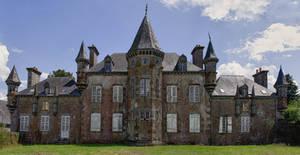 Chateau de Beauvain Orne France by hubert61