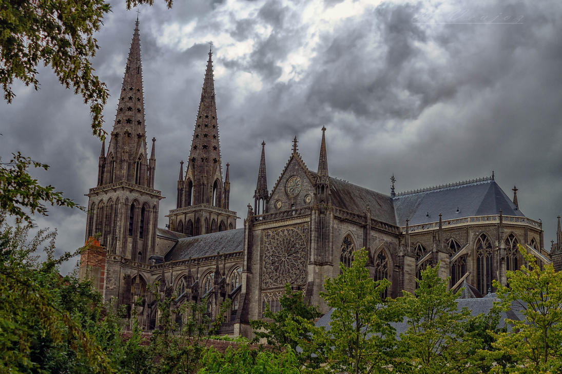 Cathedrale2 de Sees Orne France by hubert61