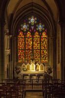 Abbaye Notre-Dame en Saint-Melaine   Rennes2  by hubert61