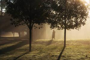 La Promenade En Novembre by hubert61