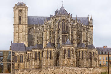 cathedrale Le Mans14 by hubert61