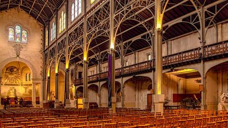 Paris Mars 2019 (19) Notre Dame Du Travail by hubert61