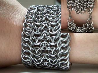 Half Persian Elf Bracelet by MystickPhoenix