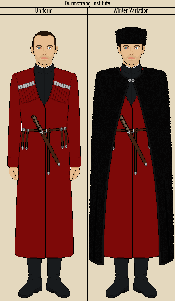 Durmstrang Institute Uniform By Quillspirit15971 On Deviantart Durmstrang is one of the oldest magical schools and is steeped in history so in todays video i'm going to take you through the schools beginnings. durmstrang institute uniform by