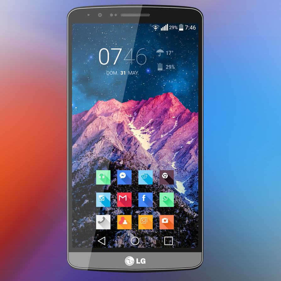 LG G3 - Mountain by Kristof-clg