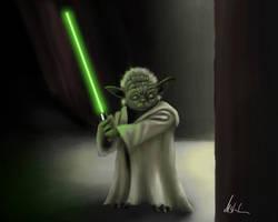 Yoda by DiBBiEZ