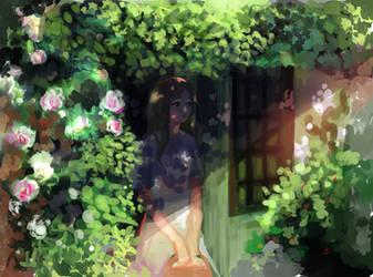 waiting by koochinko