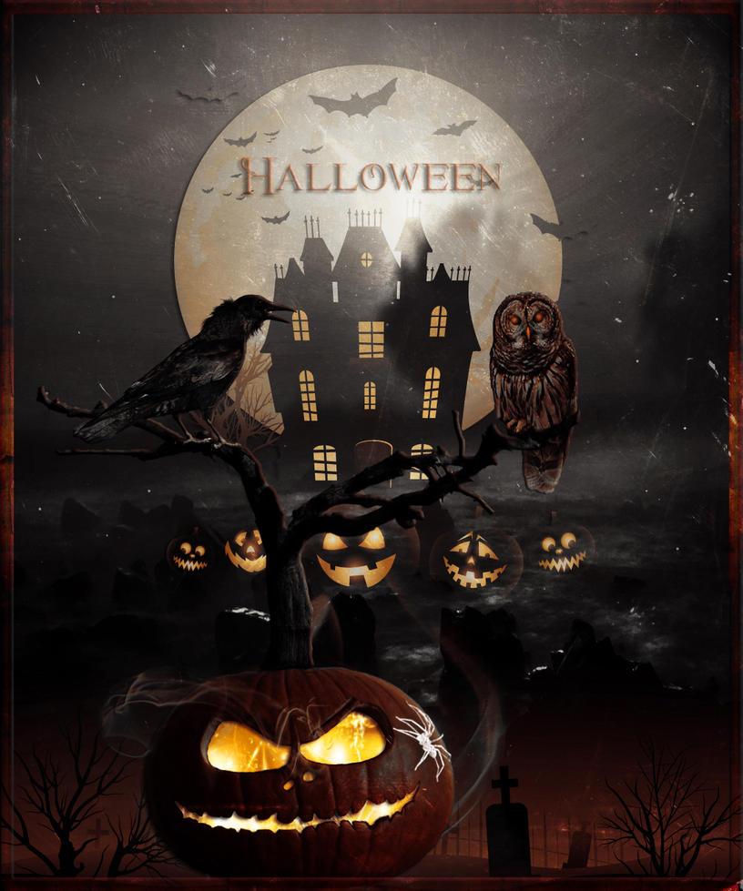 happy halloween by lg design - Design Halloween