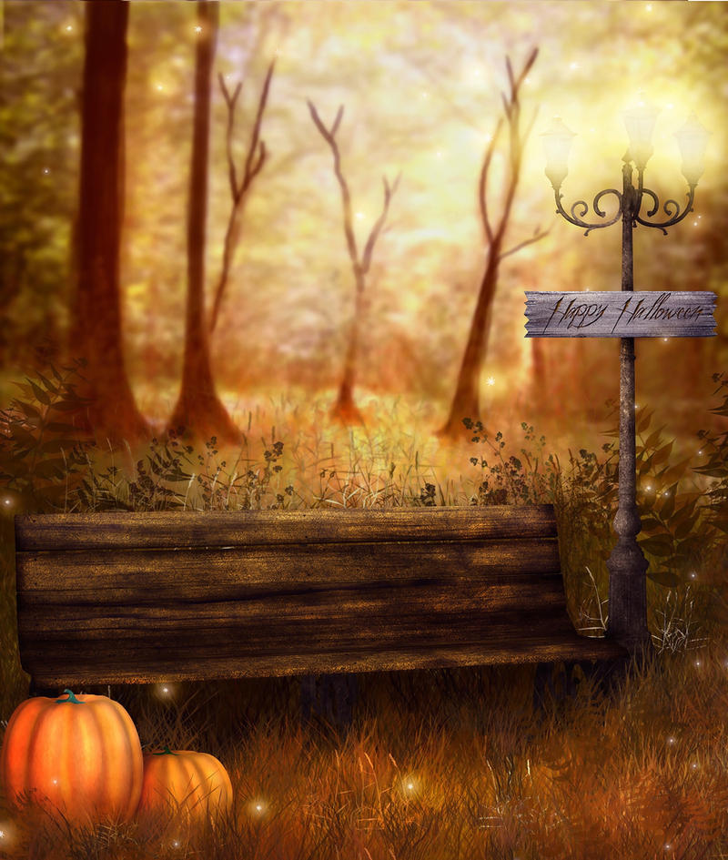 Halloween Background by LG-Design