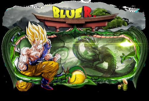 Goku Super Sayan Sign by LG-Design