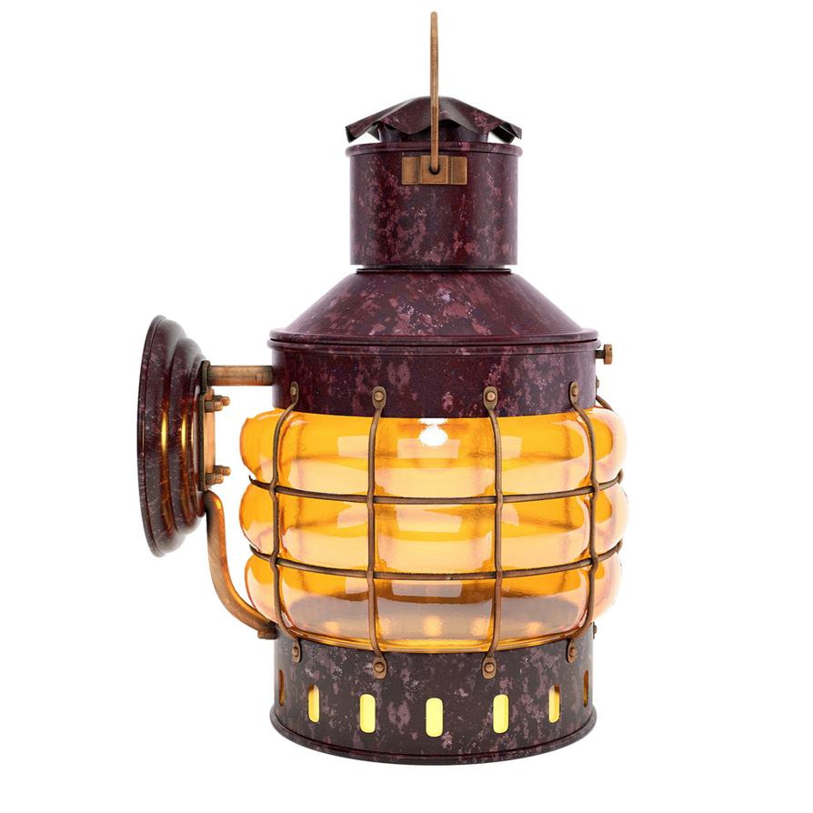 Ship Lamp PNG By LG Design