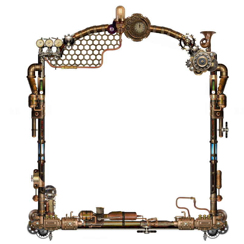 Steampunk Frame PNG by LG-Design on DeviantArt