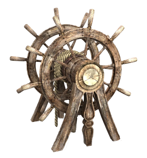 Double Pirate Helm PNG