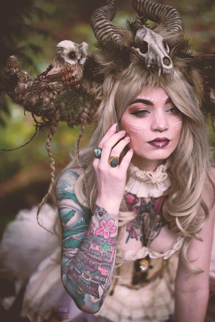 Forest Guardian by Sarah-Trickler