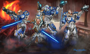Primarch Ahsoka and the 332nd Astartes