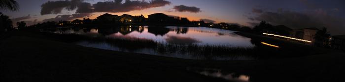 Sunset Panorama by HardToName