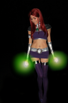 Starfire Cosplay I