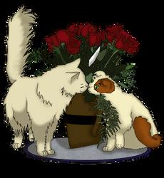 APH - FrUK, A Surprise kiss by Silbido