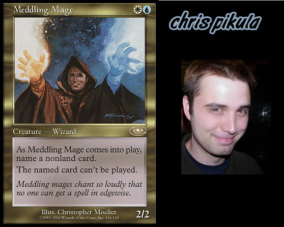 Cards Based On Players – Magic Invitational Cards