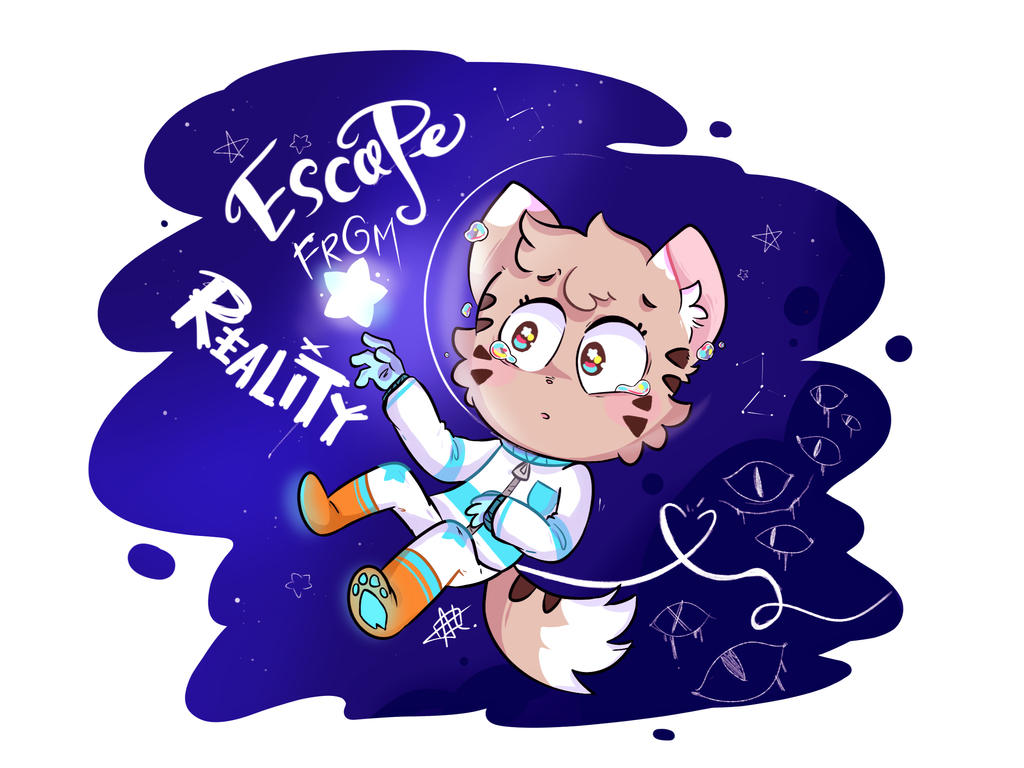 Escape from reality by AmBerDaCat
