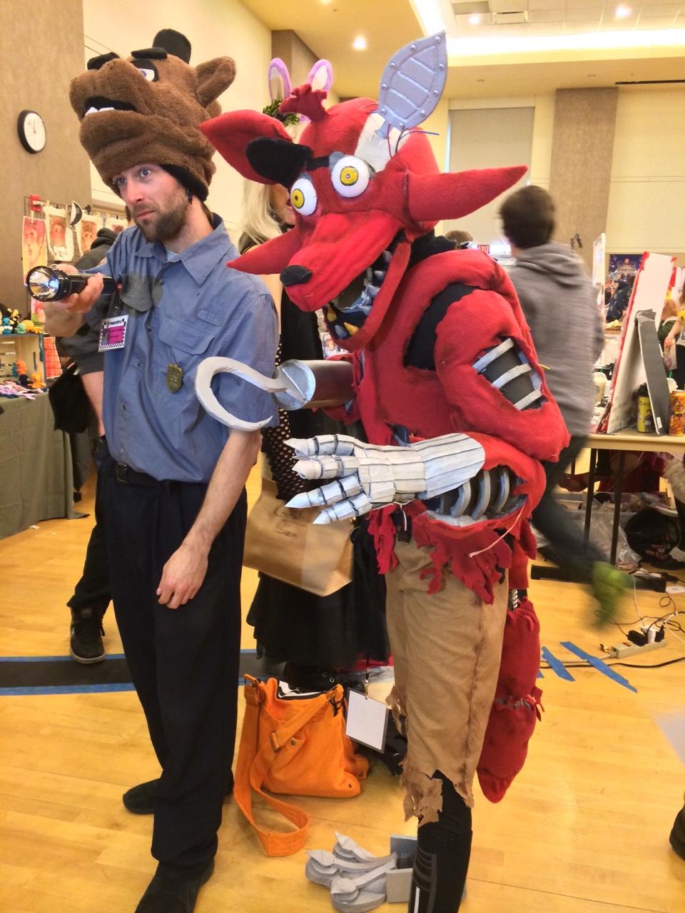 Fnaf foxy costume my fnaf foxy cosplay by