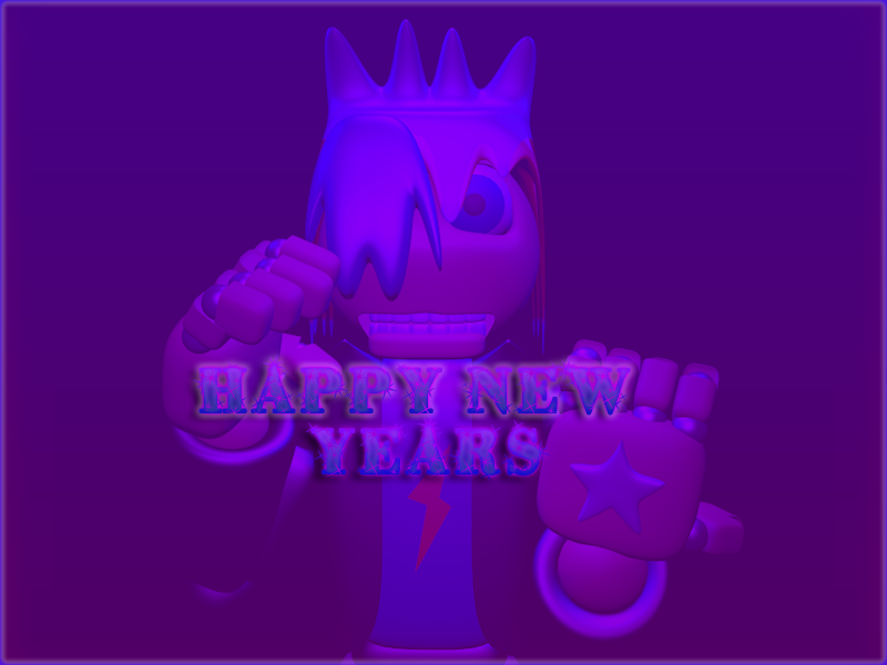 Happy New Year by DayHorrorFox