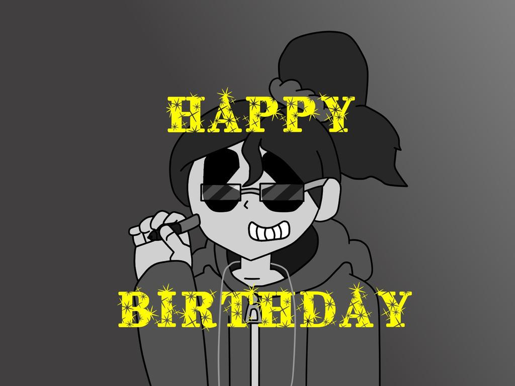 Happy Birthday CAcartoon by DayHorrorFox