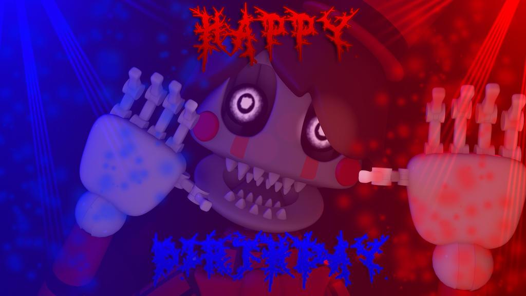 Happy Birthday HeroGollum by DayHorrorFox