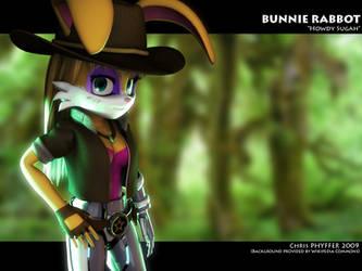 Bunnie Rabbot by one-dimensional-man