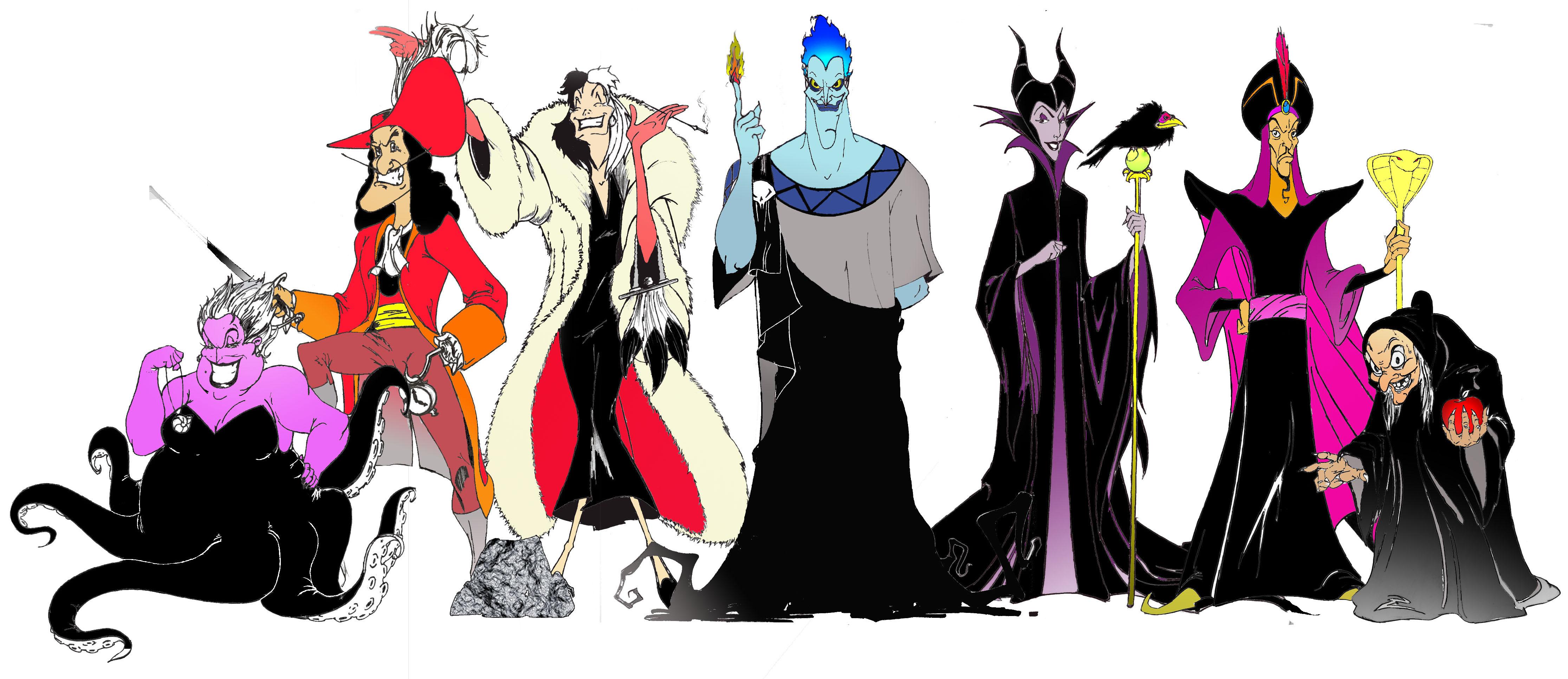 Disney Villains United By Ashtonish On Deviantart