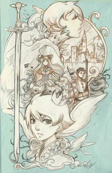 Prince swan's story sketch ver