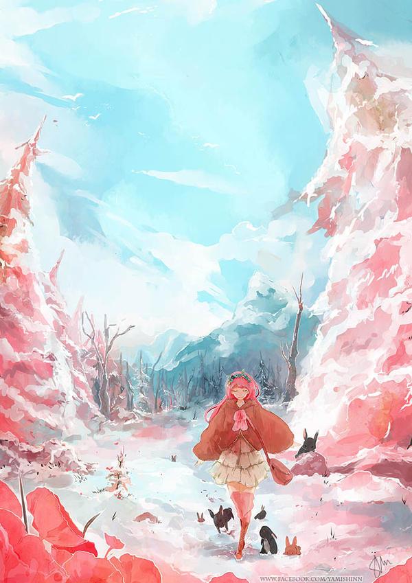 Balade en montagne by YamYami-Shin