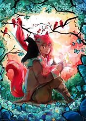 Fox spirit by YamYami-Shin