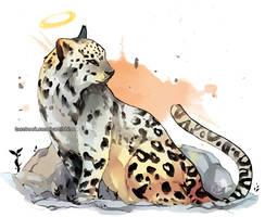 Last mountain leopard in Egypt by YamYami-Shin