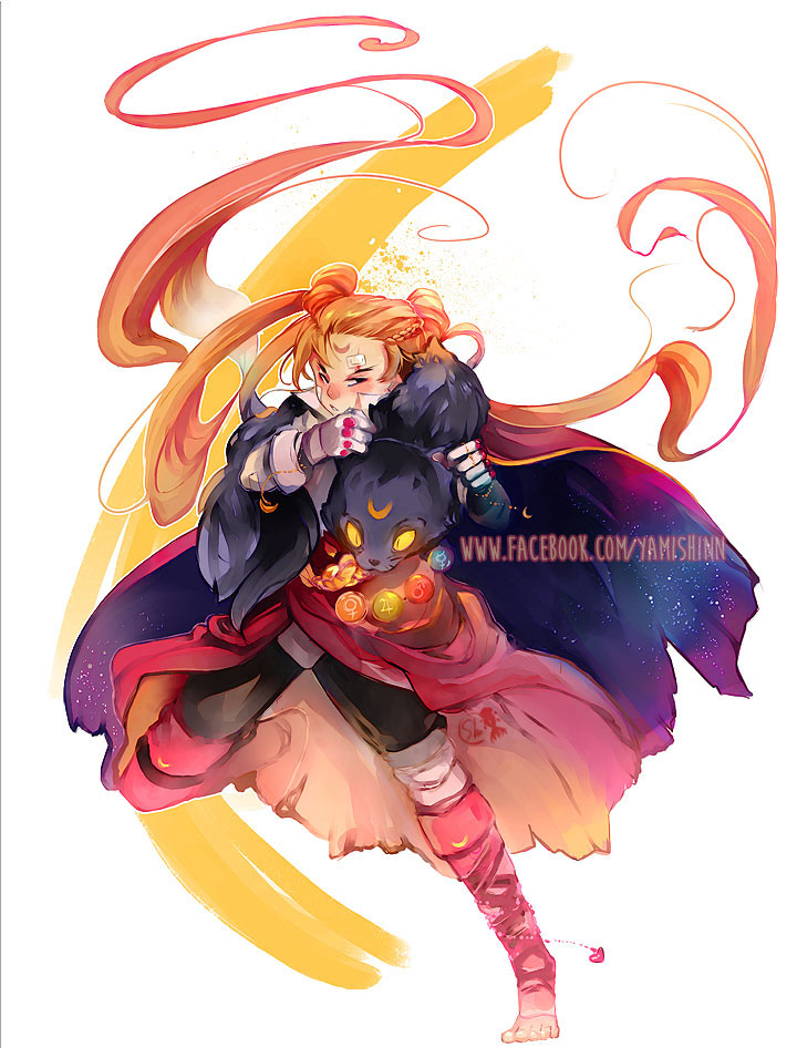 Character Design Challenge Sailor Moon : Sailor moon character design challenge by yamyami shin